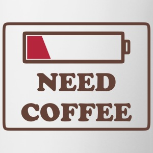need coffee funny Bottles & Mugs - Coffee/Tea Mug