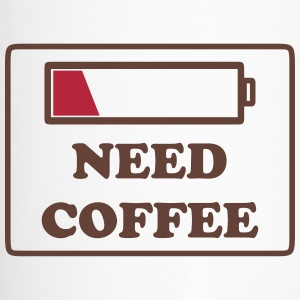need coffee funny Bottles & Mugs - Travel Mug