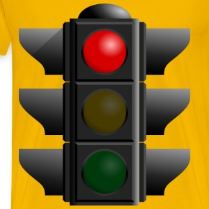 Traffic Light Red - Men's Premium T-Shirt