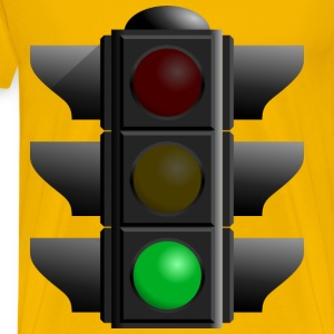Traffic Light Green - Men's Premium T-Shirt