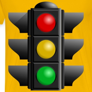 Traffic Light - Men's Premium T-Shirt
