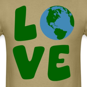 Love the Mother Earth Planet T-Shirts - Men's T-Shirt