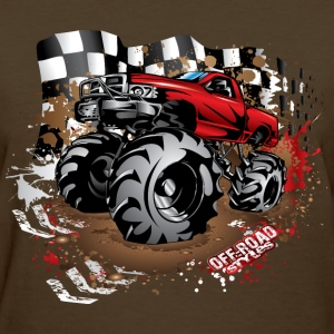Mega Mud Truck Red Race Women's T-Shirts - Women's T-Shirt