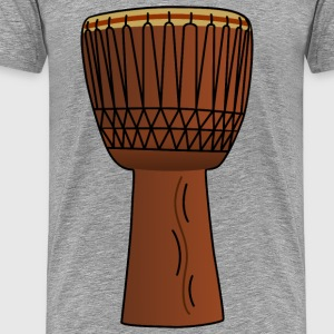 AfricanDrum3 - Men's Premium T-Shirt