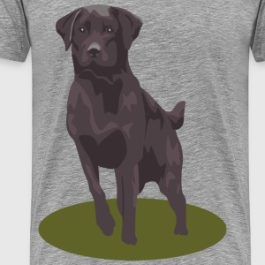 Labrador Retriever Black - Men's Premium T-Shirt