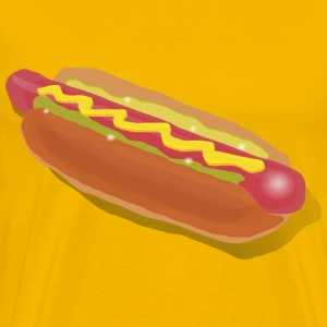 Hot Dog Sandwich - Men's Premium T-Shirt