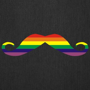 Rainbow moustache Bags & backpacks - Tote Bag