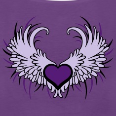 Angel Wings with Heart Tanks