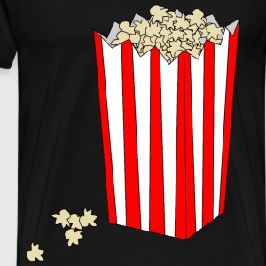 Popcorn in Bag - Men's Premium T-Shirt