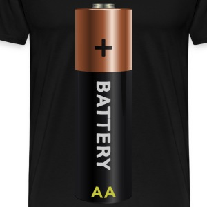 battery AA - Men's Premium T-Shirt