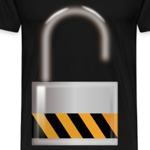Unlocked Padlock - Men's Premium T-Shirt