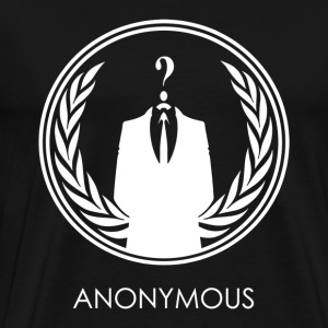 Anonymous hacker - Men's Premium T-Shirt