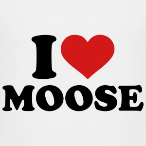 I love Moose Kids' Shirts - Kids' Premium T-Shirt