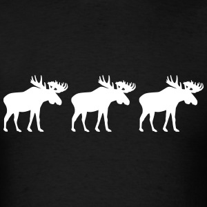 Moose T-Shirts - Men's T-Shirt
