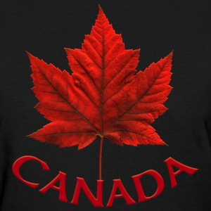 Women's Canada T-shirt Souvenir Canadian Maple Lea - Women's T-Shirt