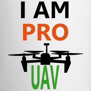 Drone PRO Bottles & Mugs - Contrast Coffee Mug