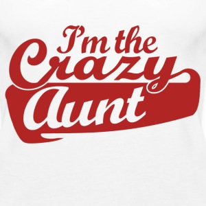 Crazy Aunt - Women's Premium Tank Top