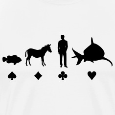 Evolution Poker T-Shirts