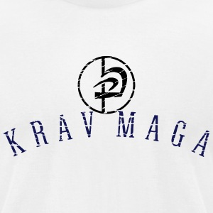 krav_maga_circle_vec_2 us T-Shirts - Men's T-Shirt by American Apparel