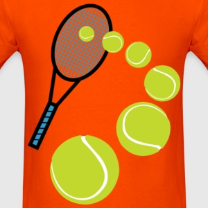 TENNIS SLICE SERVE - Men's T-Shirt