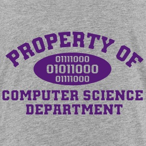 Property Of Computer Science T-Shirt - Kids' Premium T-Shirt