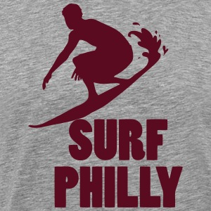 Surf Philly T-Shirts - Men's Premium T-Shirt