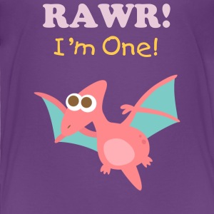 cute flying dinosaur Baby & Toddler Shirts - Toddler Premium T-Shirt