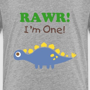 stegosaurus dinosaur Baby & Toddler Shirts - Toddler Premium T-Shirt