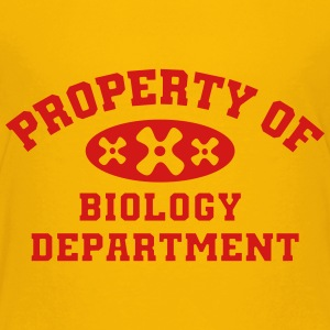 Property Of Biology Department - Kids' Premium T-Shirt