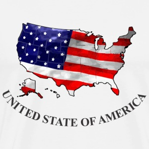 United State Of America T-Shirts - Men's Premium T-Shirt
