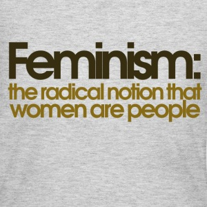 Feminism defined - Women's Long Sleeve Jersey T-Shirt