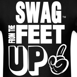 SWAG FROM THE FEET UP - Men's T-Shirt