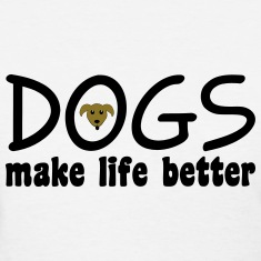 Dogs Women's T-Shirts