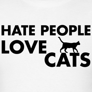 Cat Lover T-Shirts - Men's T-Shirt