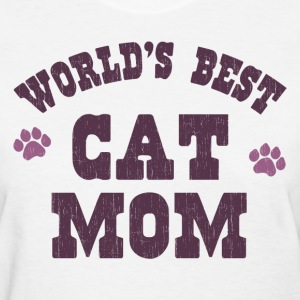 World's Best Cat Mom Women's T-Shirts - Women's T-Shirt