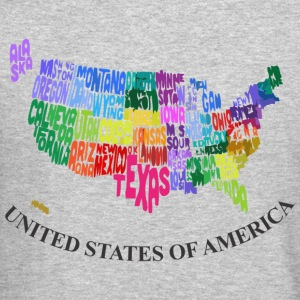 United States Long Sleeve Shirts - Crewneck Sweatshirt