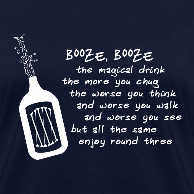 Booze (Women's Shirt)
