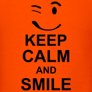 keep_calm_and_smile_g1s T-Shirts - Men's T-Shirt
