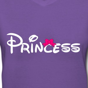 Princess Women's T-Shirts - Women's V-Neck T-Shirt