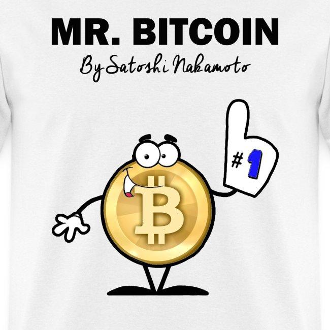 Mr Bitcoin By Satoshi Nakamoto T Shirt