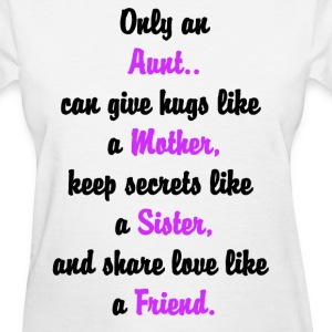I Love My Aunt Ladies Shirt - Women's T-Shirt