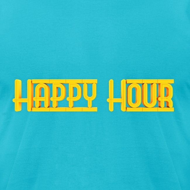 Happy Hour Mens Logo Tee