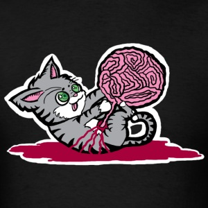 Cat Playing With Yarn? T-Shirts - Men's T-Shirt