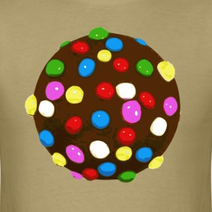 Chocolate Candy Color Ball T-Shirts - Men's T-Shirt