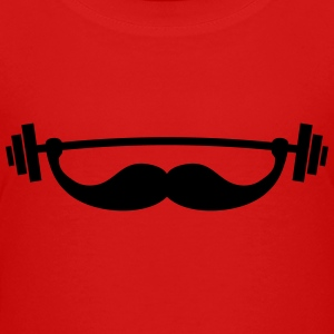 Funny Fitness Mustache / Beard Baby & Toddler Shirts - Toddler Premium T-Shirt