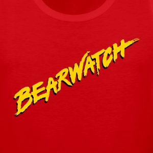 Men's Bearwatch Tank (Red) - Men's Premium Tank