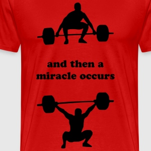 The miracle of the Snatch - Men's Premium T-Shirt