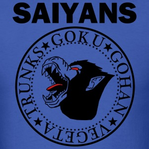 SAIYANS BLACK T-Shirts - Men's T-Shirt