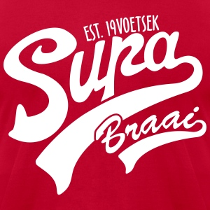 Supa Braai 2 T-Shirts - Men's T-Shirt by American Apparel