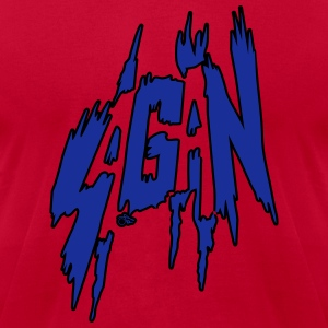 Sagan Rocks by Tai's Tees - Men's T-Shirt by American Apparel
